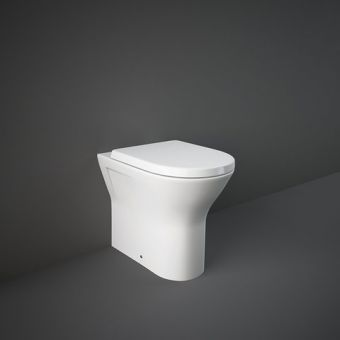 RAK Resort Comfort Height Fully Back to Wall Toilet with Seat