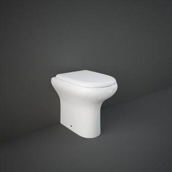 RAK Compact Comfort Height Fully Back to Wall Toilet - COM455BTWPAN