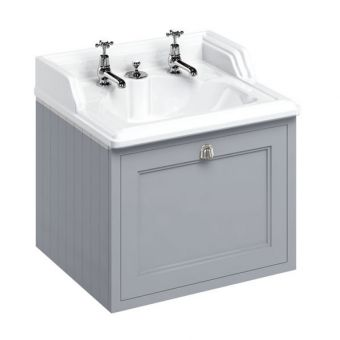 Burlington 650mm 1 Drawer Vanity with Classic Basin and Integrated Waste