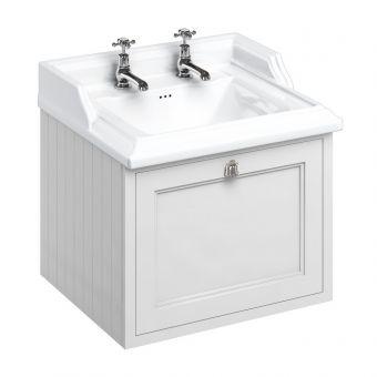 Burlington 65cm 1 Drawer Vanity with Classic Basin