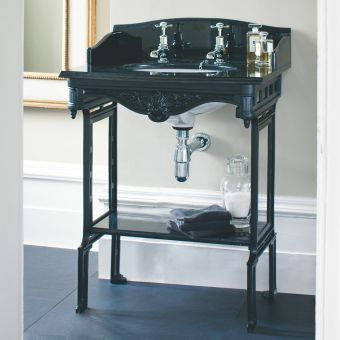 Burlington Sarah Georgian Basin with Aluminium Washstand