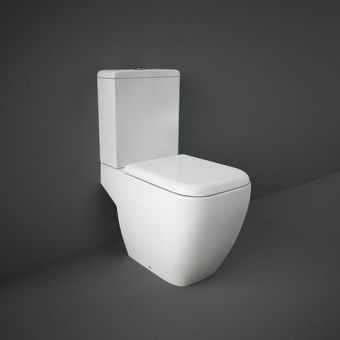 RAK Metropolitan Close Coupled Open Back Toilet Suite