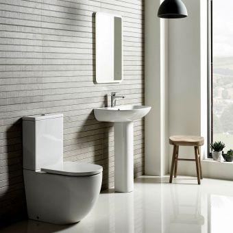Tavistock Orbit Rimless Close Coupled Toilet