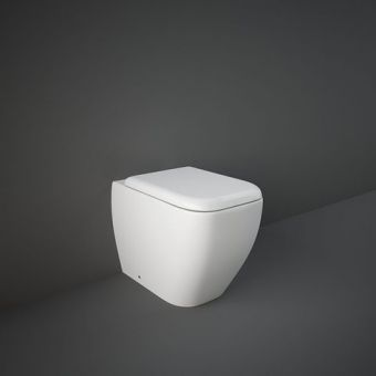 RAK Metropolitan Back to Wall Toilet Pan with Seat
