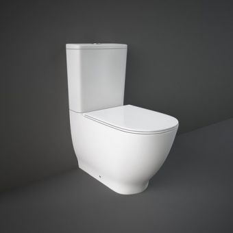 RAK Moon Close Coupled Back to Wall Toilet Suite