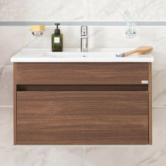 VitrA S50 800mm 1 Drawer Vanity