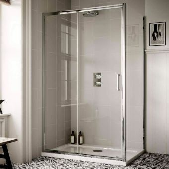 Sommer 6 1600mm Sliding Shower Door