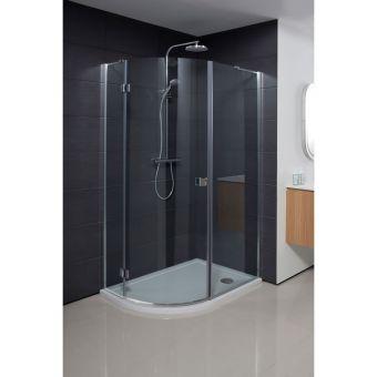 Crosswater Design 1200x900mm Offset Quadrant Shower Enclosure