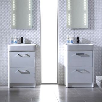 Tavistock Q60 Floor Mounted Unit with Basin