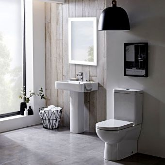 Tavistock Ion Close Coupled Toilet - PF100S