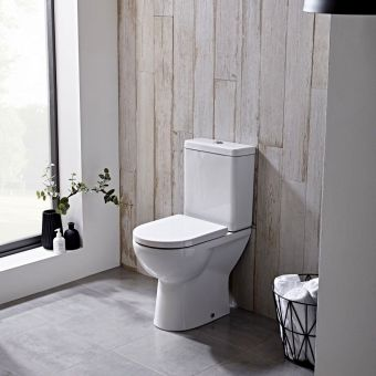 Tavistock Ion Comfort Height Close Coupled Toilet - PC150S