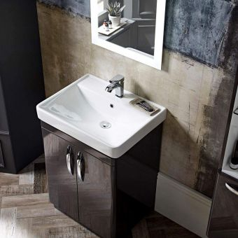 Tavistock Compass Freestanding Vanity Unit with Basin