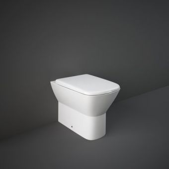 RAK Summit Back to Wall Toilet Pan with Seat