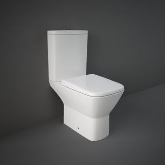 RAK Summit Close Coupled Open Back Toilet Suite