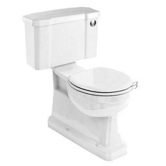 Burlington Slimline Vertical Outlet Close Coupled Toilet - P18
