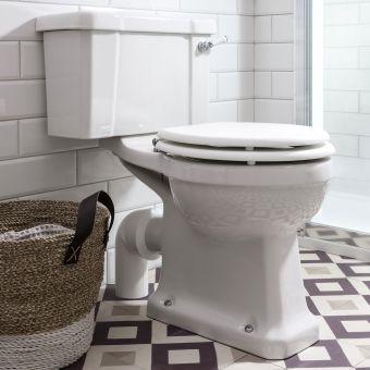 Burlington Close Coupled Toilet - P5