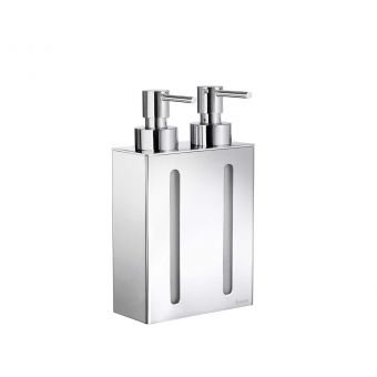 Smedbo Outline Soap Dispenser with 2 Containers FK258