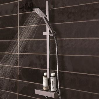 CHK Tavistock Index Thermostatic Bar Valve with Single Function Shower Handset