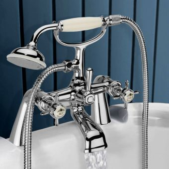 CHK Tavistock Varsity Bath Filler with Shower Handset