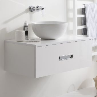Crosswater Seattle 80cm Washbowl Unit