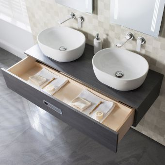 Crosswater Seattle 120cm Washbowl Unit