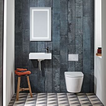 Tavistock Matrix Wall Hung Cloakroom Basin