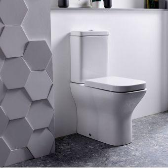 Tavistock Structure Comfort Height Close Coupled Toilet - PC450S