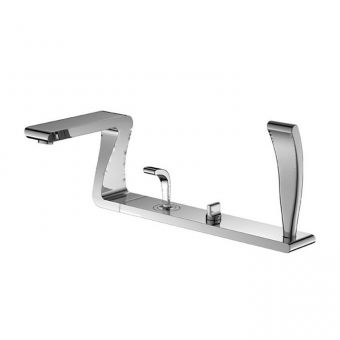 Phoenix ZD Series 4 Hole Deck Mounted Bath Shower Mixer