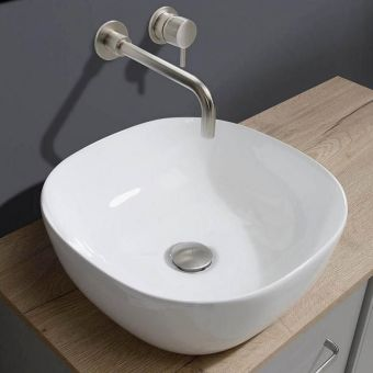 Crosswater Real Square Countertop Wash Bowl
