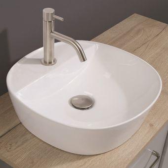 Crosswater Fontana Countertop Wash Bowl - CT4040UCW