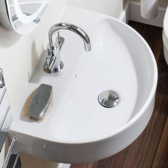 Crosswater Celeste Curved Basin