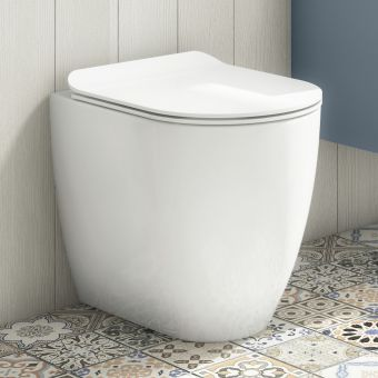 Crosswater Glide II Back to Wall Rimless WC