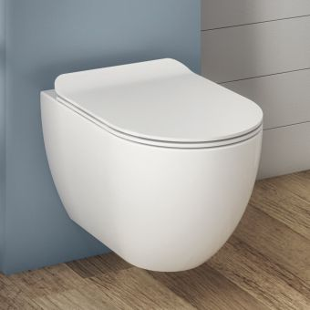 Crosswater Glide II Wall Hung Rimless WC