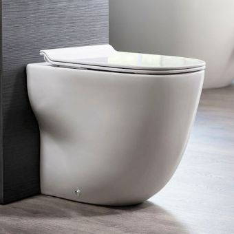 Crosswater Wild Back to Wall Rimless WC - WI6117CW