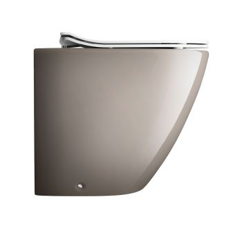 Crosswater Svelte Platinum Back to Wall WC - SE6007CP