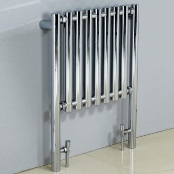 Phoenix Mia Chrome Designer Radiator 800 x 600mm
