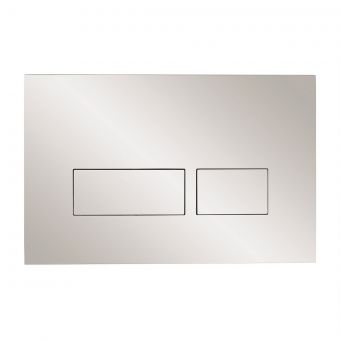 Crosswater MPRO Chrome Flush Plate