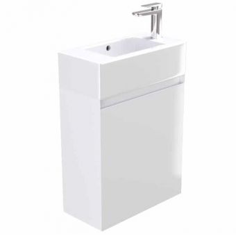 Saneux Podium Single Door Vanity Unit