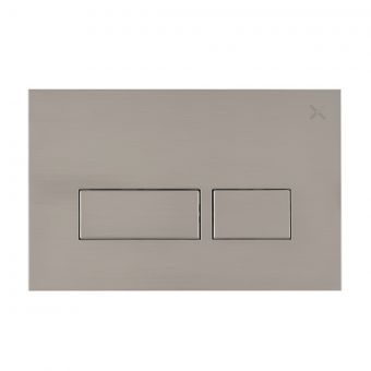 Crosswater MPRO Brushed Steel Flush Plate