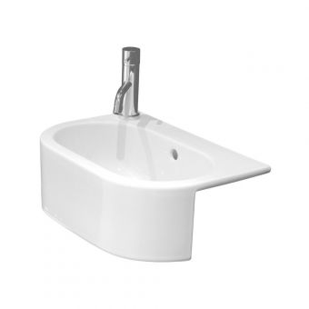 Saneux Uni 460mm Semi-Recessed Washbasin