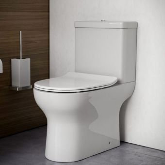Saneux Air Close Coupled Open Back WC