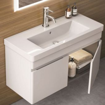 Saneux Air Wall Mounted Vanity Unit with 2 Doors **PRICES**
