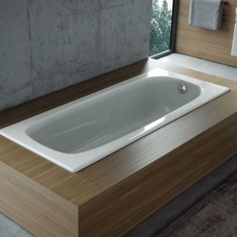 Saneux Sansteel Single Ended Steel Bath