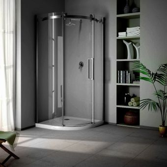 Saneux Steel Quadrant Shower Door **Legacy Product**