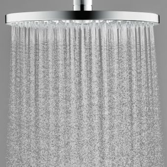 Hansgrohe Raindance Select S 2jet Overhead Shower with Ceiling Connector - 26467000