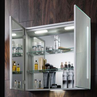 Crosswater Allure 700 Mirror Cabinet - AL7070AL