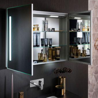 Crosswater Allure 900 Mirror Cabinet - AL9070AL