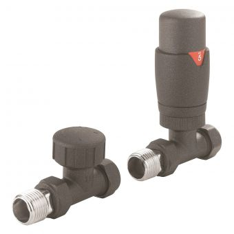 Crosswater Kai Thermostatic Angled Radiator Valve