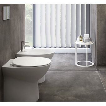 RAK Morning Rimless Back to Wall Toilet with Soft Close Seat
