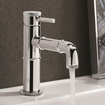 Crosswater MPRO Industrial Chrome Basin Tap - PRI110DNC